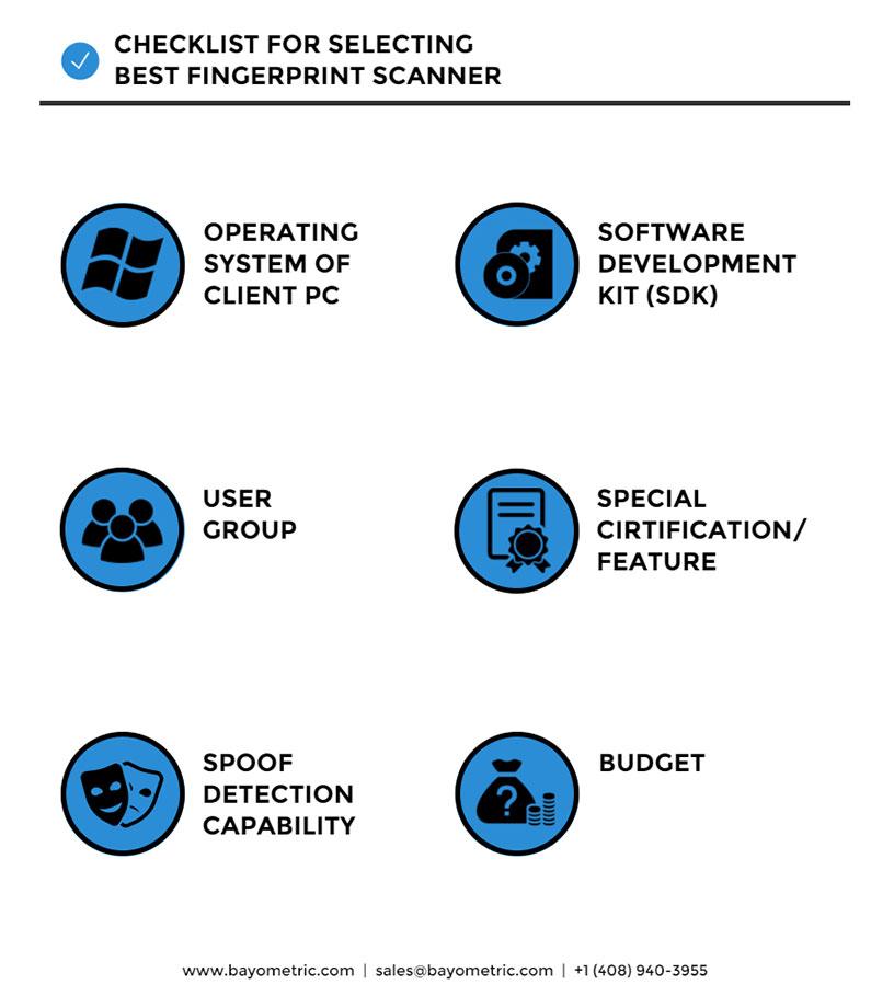 6 Ways to Select the Best Fingerprint Scanner / Reader